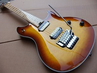Free Shipping New Arrival Musicman Electric Guitar With Floyd Rose Tremolo In Sunburst 110517