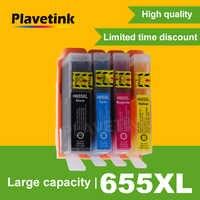 Plavetink Per HP 655 XL Cartuccia di Inchiostro Compatibile di Ricambio Per HP Deskjet 655 3525 5525 4615 4625 4525 6520 6525 inchiostro della stampante
