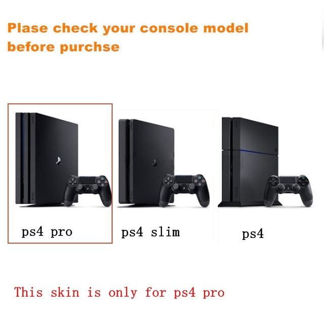 For Playstation 4 PS4 PRO Console And Controller Newest Limited Edition Stickers Skins Vinyl Decals Skin Elegant Protector
