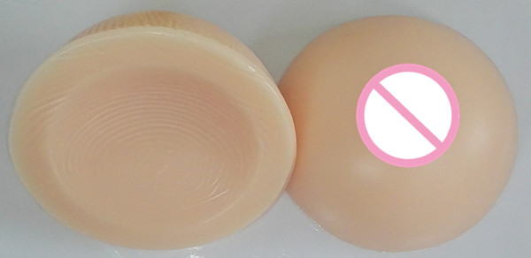 Free Shipping!!! Beautiful Round Shape Soft Natural Lifelike Fake Silicone Breasts Forms for Cross Dressers or Women Enhancement  free delivery cheap price promotional 1400g pair plump sexy fake silicone breasts forms for cross dressers or women enlarge