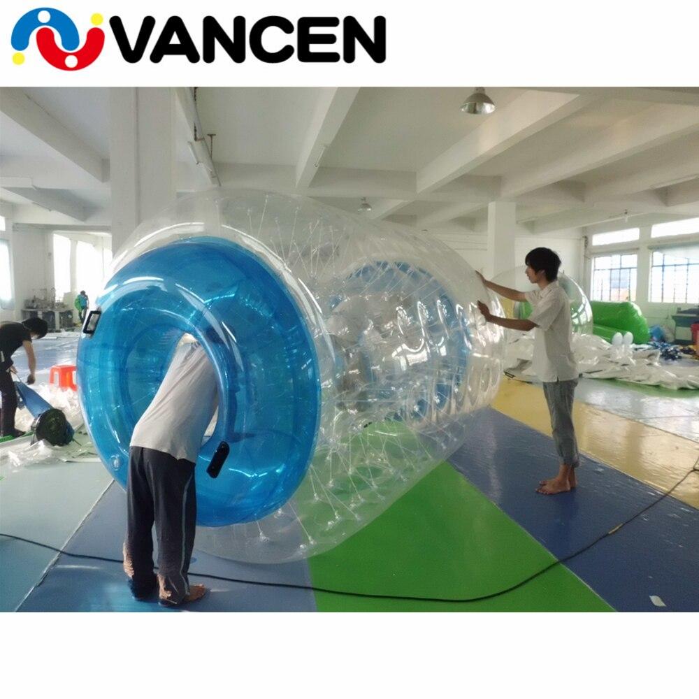 Boule gonflable de rouleau de l'eau de jeu de l'eau d'été 100% TPU marche sur la boule de bulle de roulement de l'eau boule gonflable faite sur commande de marche de l'eau