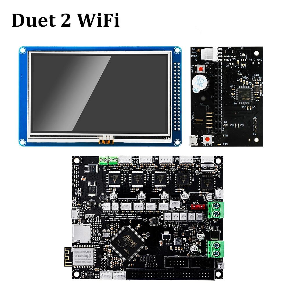 Duet 2 Wifi Motherboard Cloned Reprap Firmware Powerful 32 bit Duet2 Board 4 3 Panel Touch