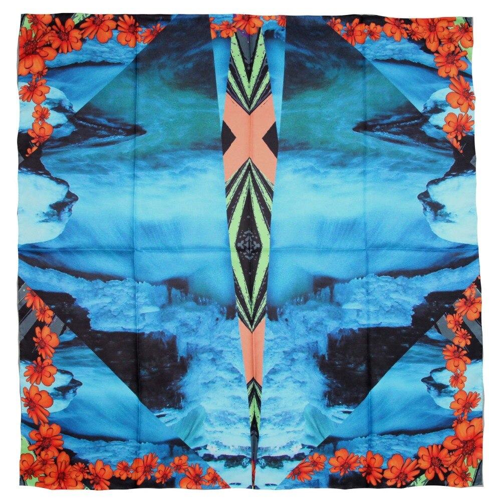 ELEGANT HANDMADE BRAND 100%Twill Silk Scarf TWIC-209612A