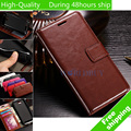 Vintage Wax Crazy Horse Flip TPU Leather Case Holder Cover Stand Wallet Bag For Huawei Y3 II Y3 2 Y5 II Y5 2 Y6 II Y6 2 Y3