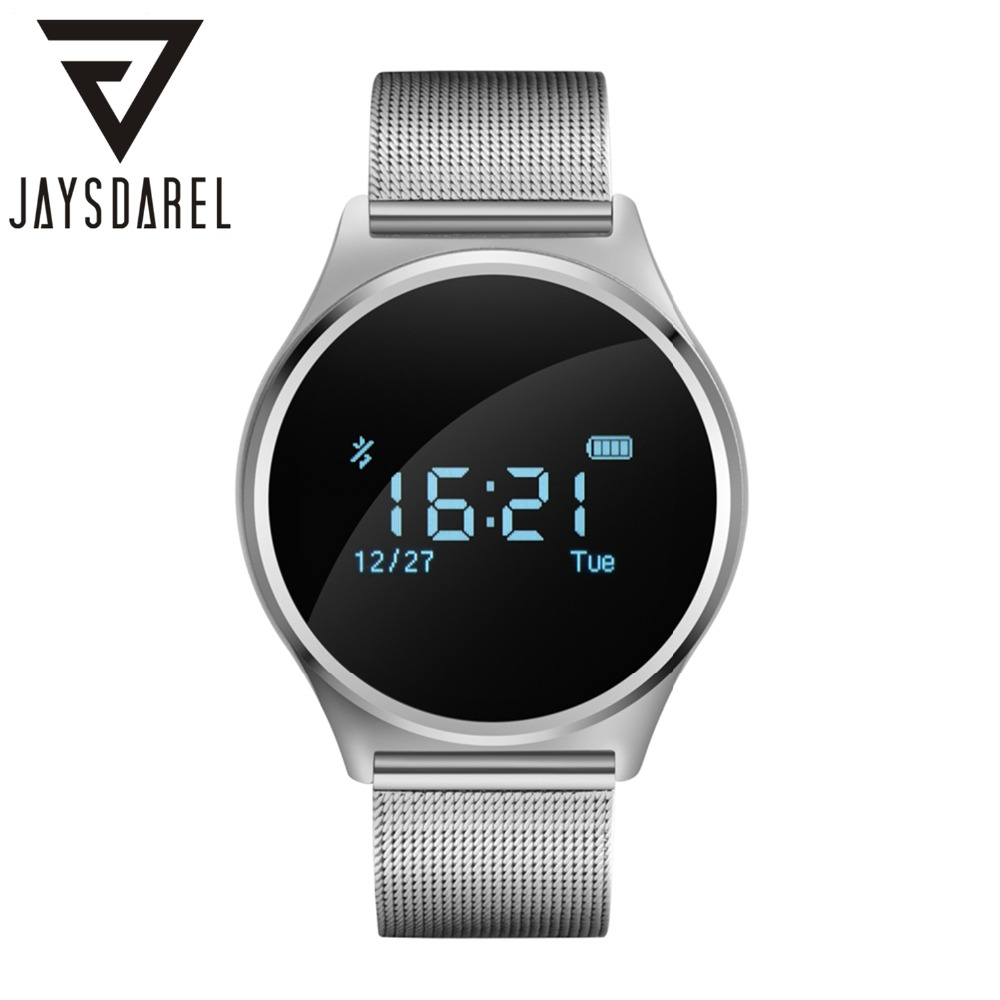 JAYSDAREL M7 Heart Rate Monitor Blood Pressure Smart Watch Fitness Tracker OLED Lovers Smart Wristband for Android iOS jaysdarel heart rate blood pressure monitor smart watch no 1 gs8 sim card sms call bluetooth smart wristwatch for android ios