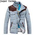 Free shipping Lovers Padded 2017 Casual Wadded Jacket Cotton Padded Jacket man and women slim thick warm coat Size S-3XL
