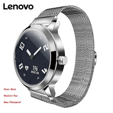 Lenovo Watch X Plus Milanese Import Movt OLED Display Ultra-long Standby Wristwatch Sleep Heart Rate Monitor Smart Watch