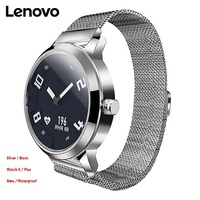 Lenovo Watch X Plus Milanese Import Movt OLED Display Ultra long Standby Wristwatch Sleep Heart Rate Monitor Smart Watch