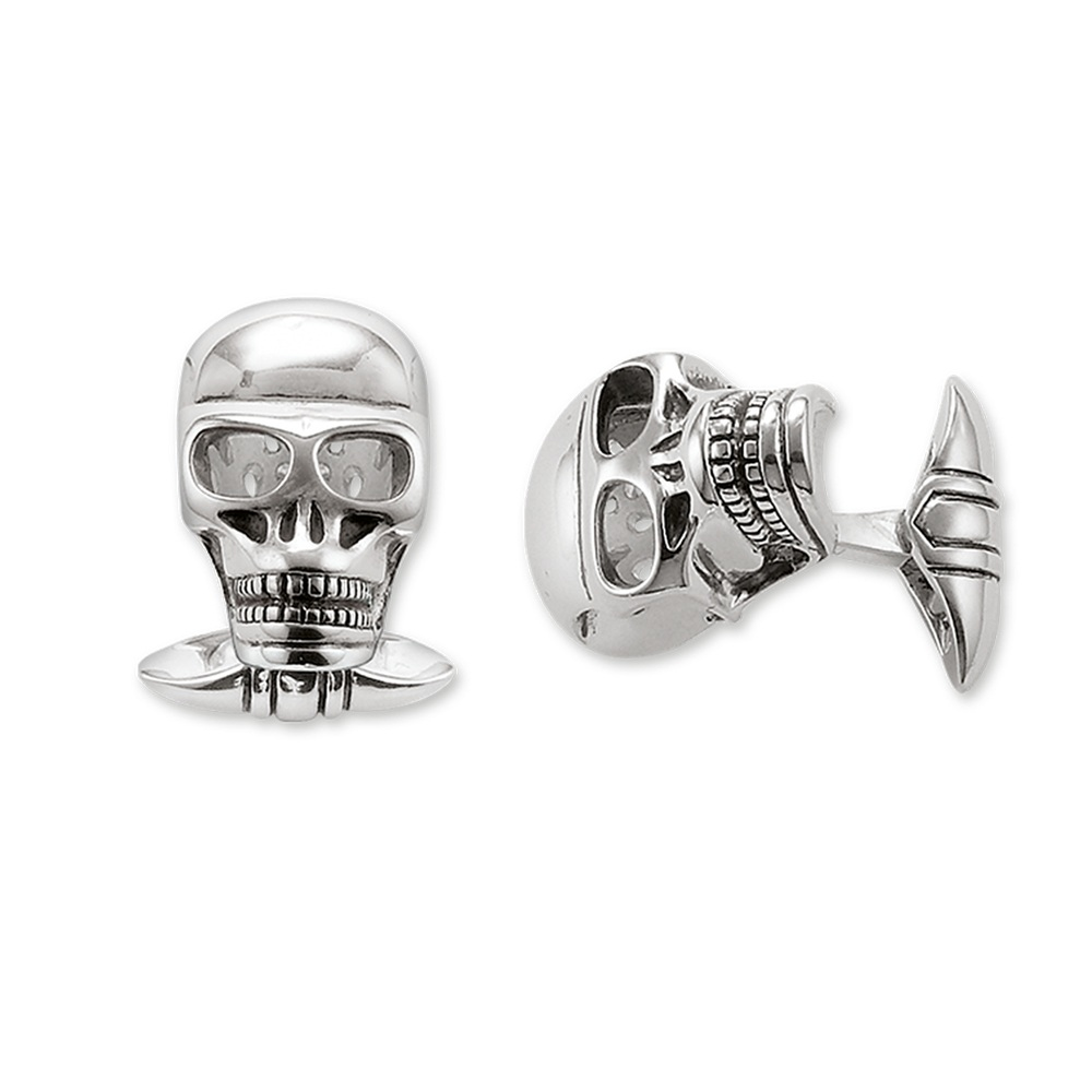 Skull-Cuff-Links-2017-Brand-Fashion-Jewelry-Thomas-Style-925-Sterling-Silver-Bijoux-Necklace-Accessories-Gift