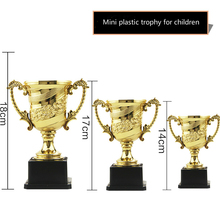 Hot Sale Originality Plastic Trophy Children Mini-Small Trophies Match Souvenirs Customize Kids Sports Prize And Winners