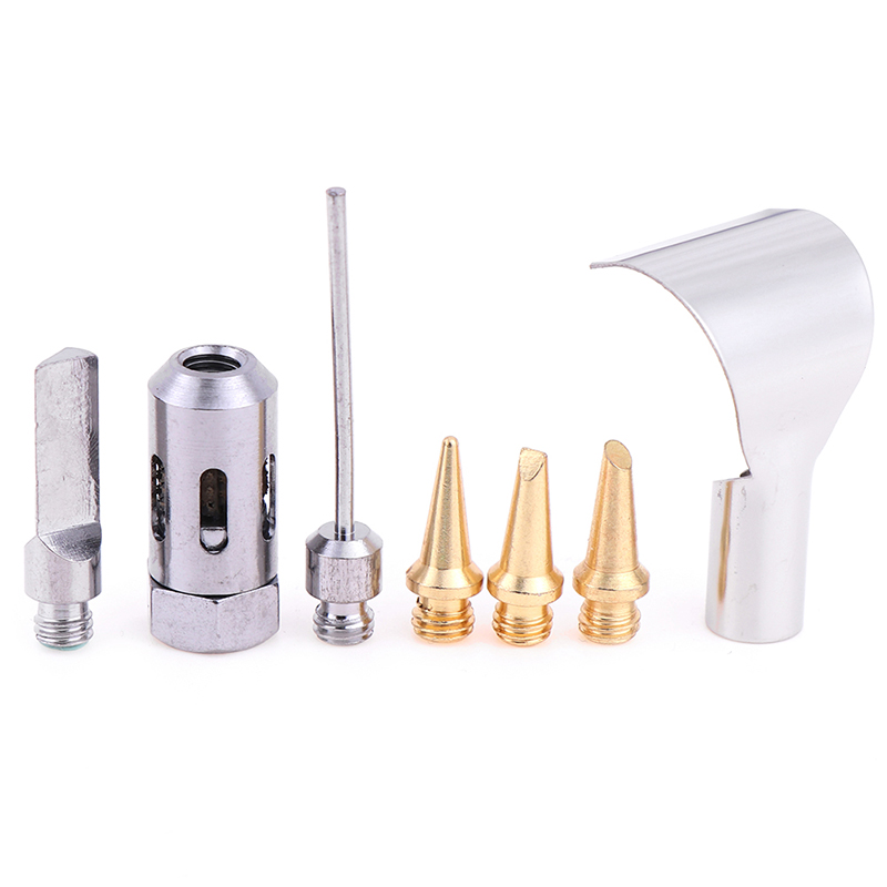 5pcs Popular HS-1115K 5 in 1 Gas Soldering Iron Cordless Welding Torch Tool Kit