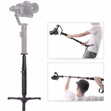 Zhiyun Telescopic Monopod for Zhiyun Crane 2 Accessories Handheld Tripod  Gimbal Stabilizer with 1/4
