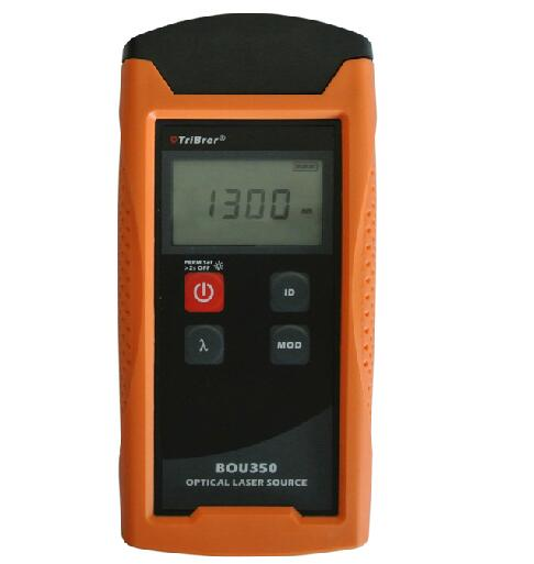 Tribrer Brand Optical Power Meter BOU350T 70dBm 10dBm handheld with 6 wavelength Used in FTTx Optic