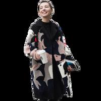 Autumn Winter Jacket Women Clothes 2018 Korean Real Fur Coat Wool Jacket Vintage Lambswool Coats Double faced Fur Tops ZT1144