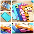 Chegam novas presente festival Bonito encantador Dos Desenhos Animados 3D Minnie Sulley tigre gato de silicone shell case capa para ipad mini 2 frete grátis