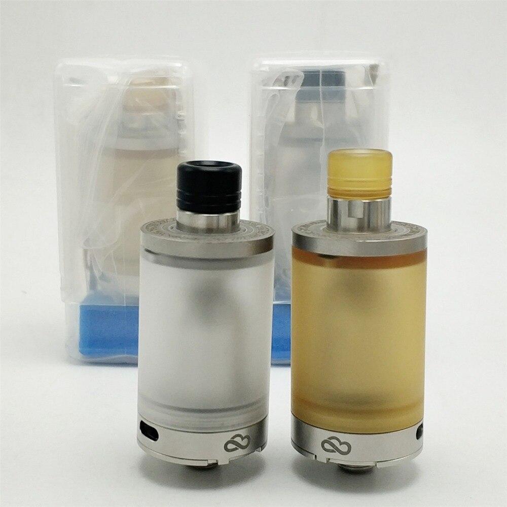 Atomizadores Cigarro eletrônico Coppervape 316SS CloudOne Blasted V4 RTA com PEI/PC tanque 22mm de diâmetro capacidade 3.7 ml