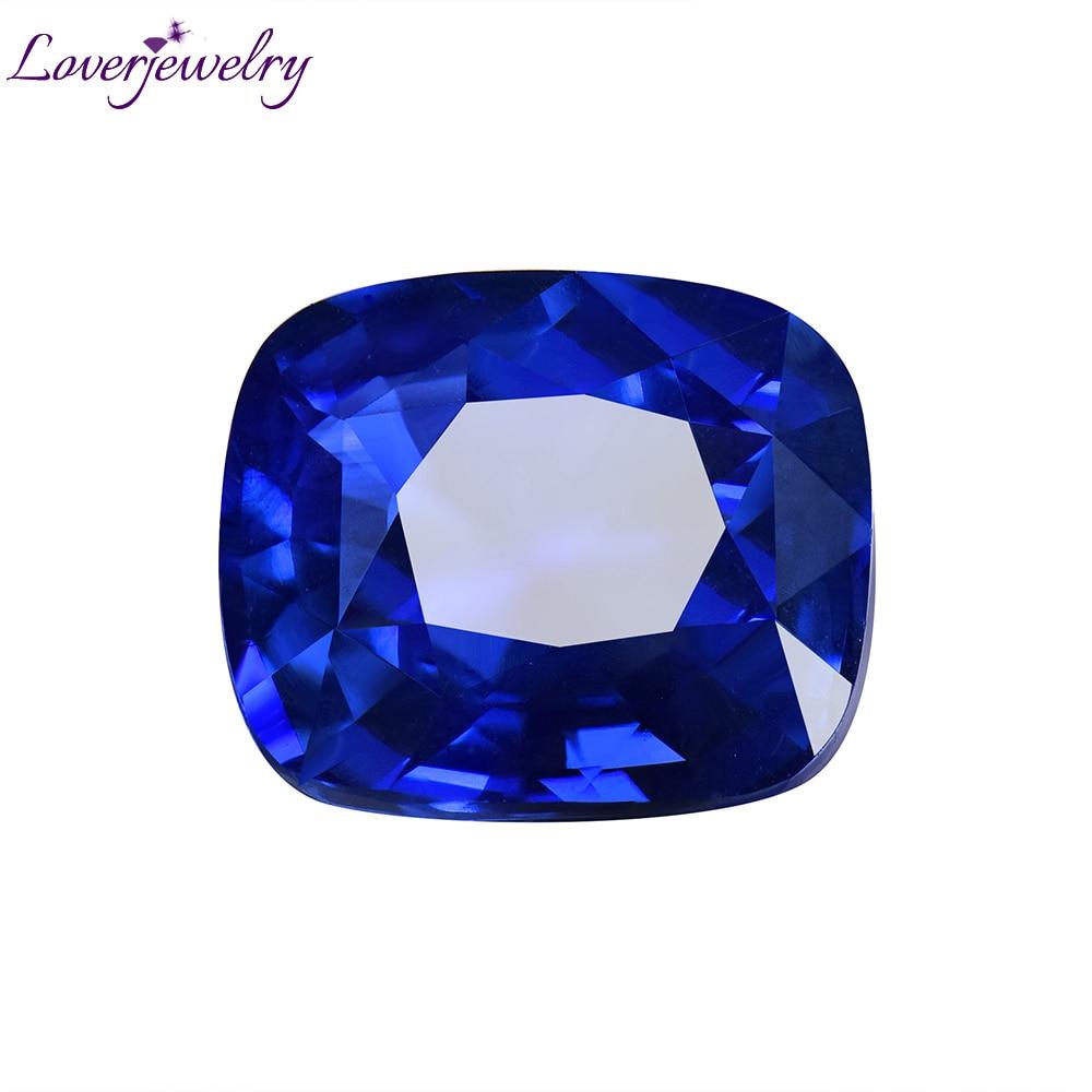 Loverbijoux saphir naturel en vrac pierres précieuses Sri Lanka 2.55ct bleuet saphir CGL certificat pour anneaux pendentifs bricolage