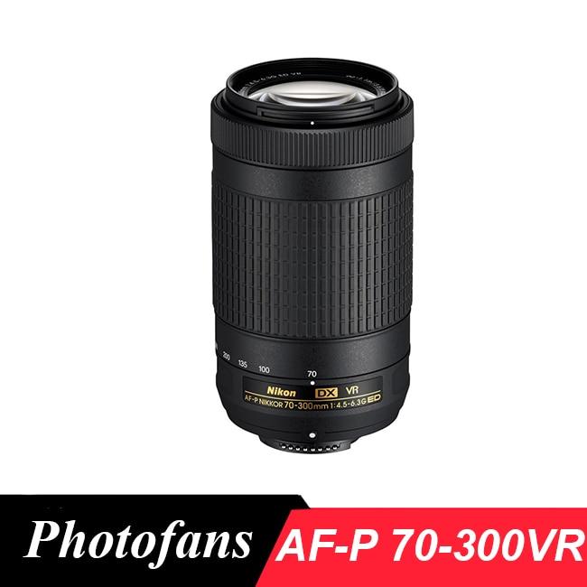 Nikon 70-300 VR AFP Nikkor AF-P DX 70-300mm f/4.5-6.3g ED VR pour D7200, d7100, D5600, D5500, D5300, D5200, D3400, D3300, D500
