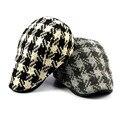 Alta qualidade Casual Boinas Chapéus Nova marca de Esportes de Verão Unissex Boinas Caps Para Mulheres Dos Homens ajustável confortável Xadrez Tampas
