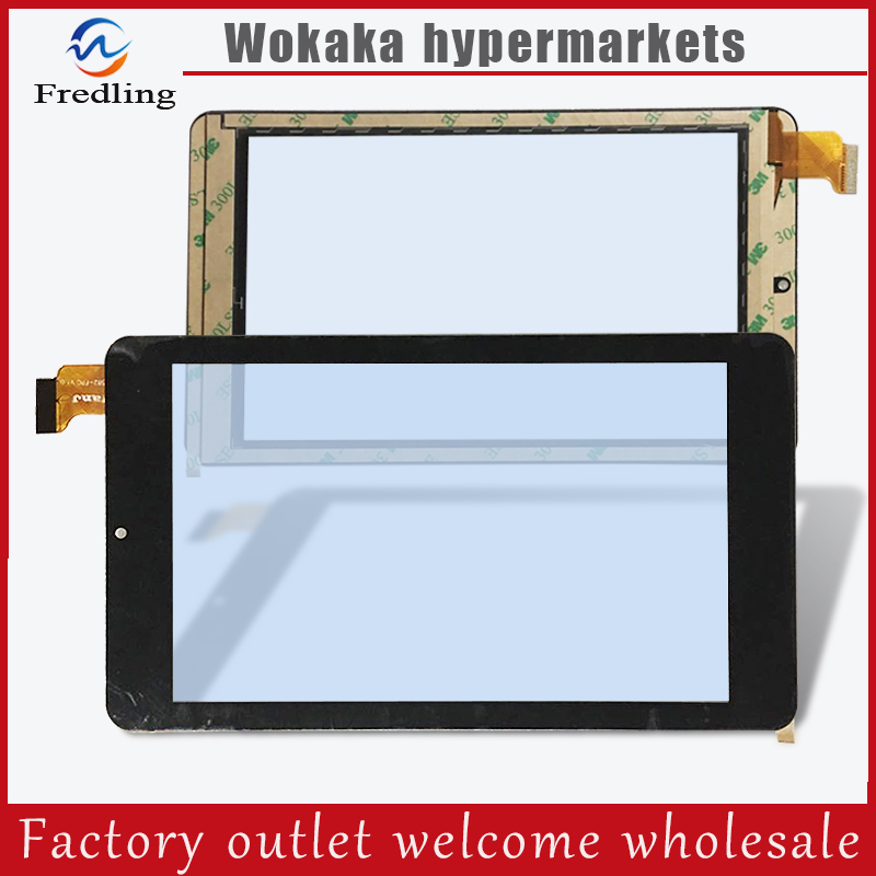 New Touch screen For 7 DIGMA OPTIMA 7301 TS7057AW Tablet Touch panel Digitizer Glass Sensor replacement Free Shipping