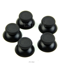 10Pcs Replacement Controller Analog Thumb Stick for Sony PS4 Black