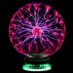 Image 5 - Plasma Ball Atomosphere Night Light โคมไฟลาวาแหล่งจ่ายไฟโดย USB และแบตเตอรี่ AAA เด็กของขวัญ 2019 Magic Lightning Bolt LED หลอด