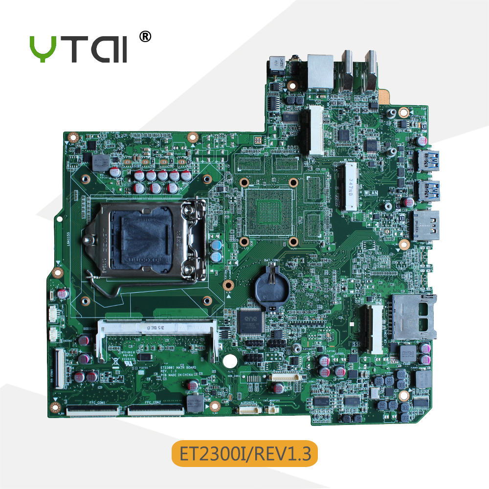 YTAI ET2300I REV1.3 USB3.0 Mianboard for Asus ET2300I all-in-one Motherboard REV1.3 USB3.0 Integrated Graphic Card Mainboard ytai k55vd rev 3 1 mianboard for asus k55vd k55a laptop motherboard hm76 integrated graphic card 2 ddr3 usb3 0 mainboard