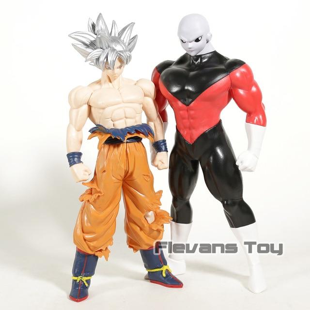 Tamanho grande cm Anime Dragon Ball Z Goku Super Ultra Instinto 30 Migatte Jiren Son Goku PVC Figura de Ação Modelo brinquedos