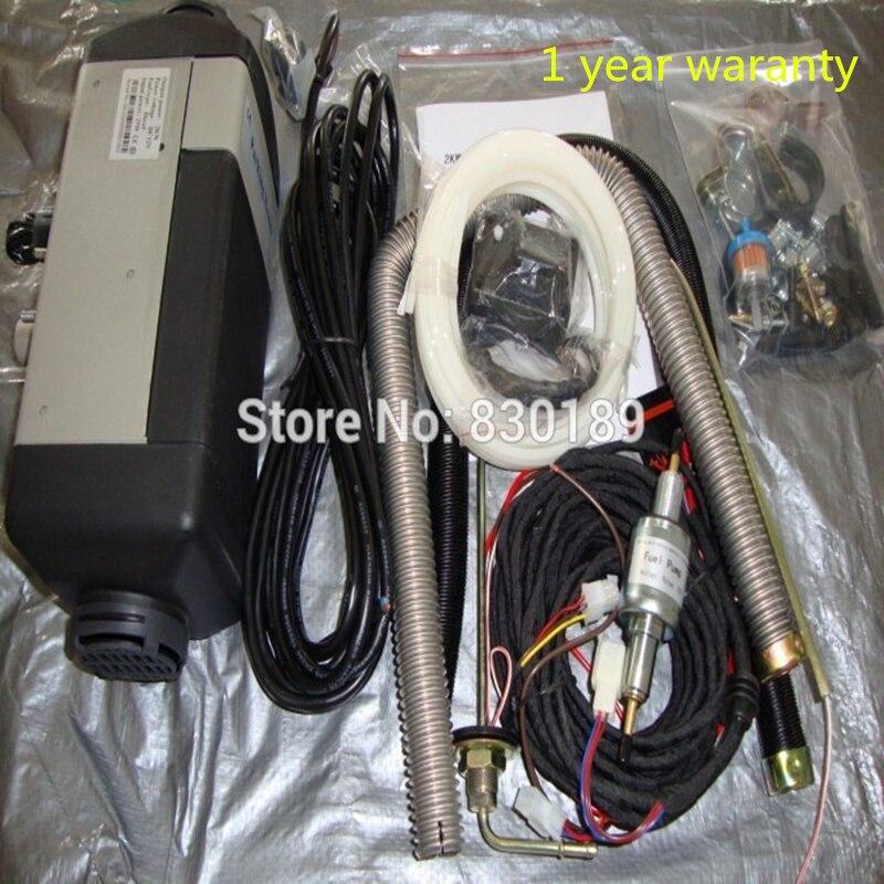 4KW 12 V 24 V air chauffage auxiliaire pour gaz et diesel de voiture \ Van-similaire avec Webasto et Eberspaecher type.