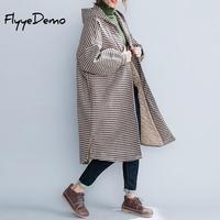 Plus Size Winter Warm Jacket Long Coat Women Fashion 2019 Plaid Hooded Woman Loose Jackets Parka Womens Tops High Quality