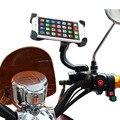 Universal de la Motocicleta Motor Bike Holder Electromobile Sostenedor Del Montaje de 3.5-6.0 pulgadas soporte del teléfono para el iphone 5 6 7 samsung s7 huawei P9