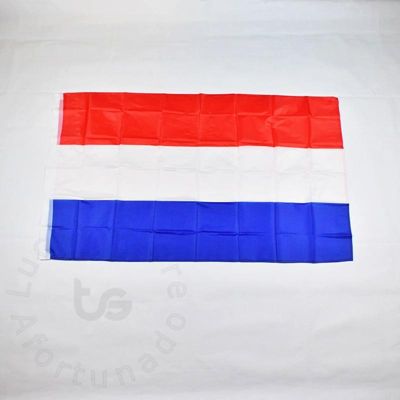 Nizozemsko Holandsko vlajka 90 * 150 cm Banner Doprava zdarma Závěsná státní vlajka Nizozemsko Holandsko vlajka