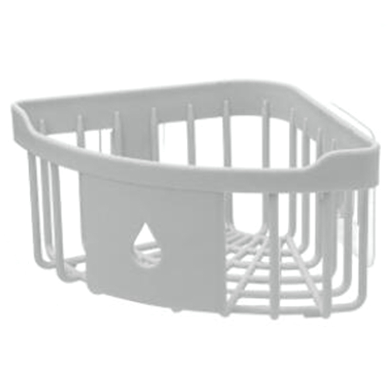2 個浴室の棚三脚強力な洗浄棚トイレ収納ラック浴室コーナー壁掛けロッカーキッチン収納ラック -
