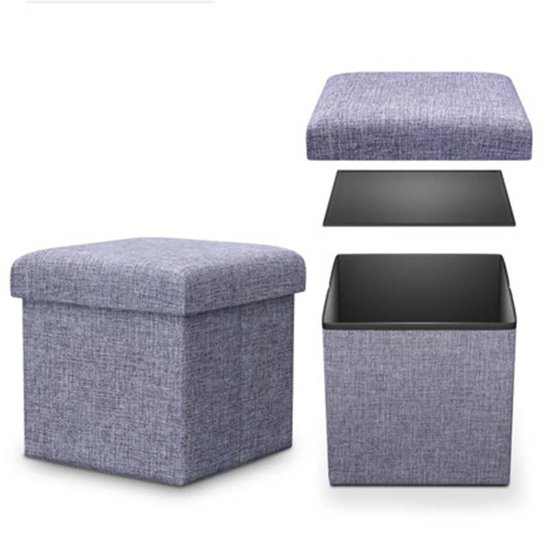 Multi-functional storage receive stool can sit stool folding bin toy box function of stool chair sofa in shoes Europe And Americ american retro nostalgia sofa stool storage stool changing his shoes stool circular fashion toy storage box clothing store furni