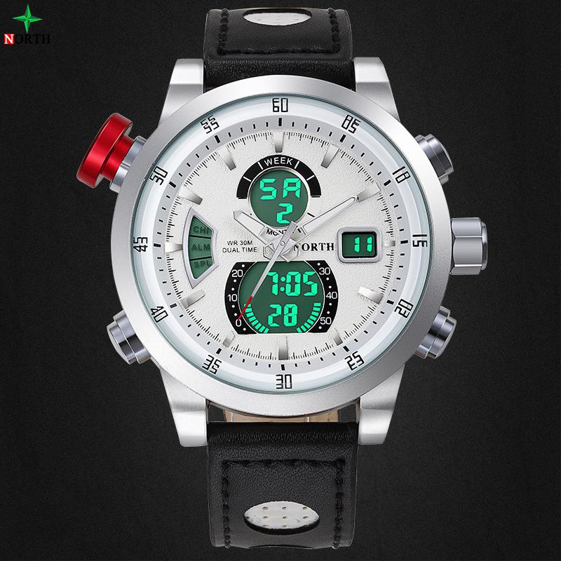 Prix pour Reloj Hombre Sport Montre Étanche LED Numérique Mâle Montres 2016 Alarme Calendrier Mode Casual Quartz Hommes Sport Montre-Bracelet
