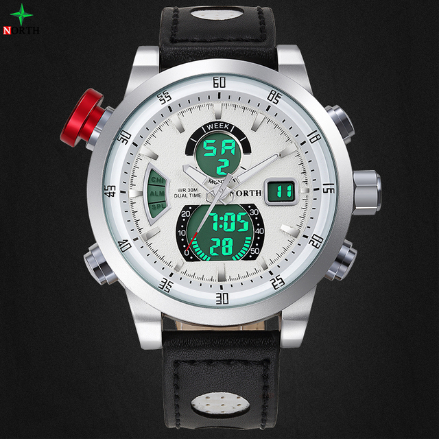 Reloj Hombre Sports Watch Waterproof LED Digital Male Watches 2016 Alarm Calendar Fashion Casual Quartz Men Sport Wristwatch