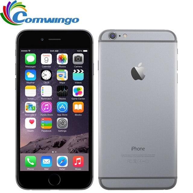 """ปลดล็อก Apple โทรศัพท์มือถือ iPhone 6 Plus 5.5 """"Dual Core 16G/64GB/128GB ROM IOS iPhone 6plus 8MP กล้อง 4K LTE"""