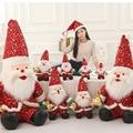 2016 Новый Мультфильм Рождество Санта-Клаус куклы кукла Дед Мороз подарок деятельность подарки Baby Дети Рождество Gfts