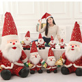 2016 New Cartoon Santa Claus doll Christmas doll Father Christmas gift activity gifts Baby Kids Christmas Gfts