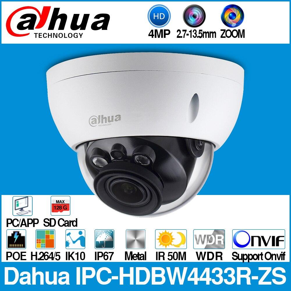 Dahua IPC-HDBW4433R-ZS 4MP IP Caméra CCTV Avec 50 M IR Gamme Vari-lentille focale caméra réseau Remplacer IPC-HDBW4431R-ZS
