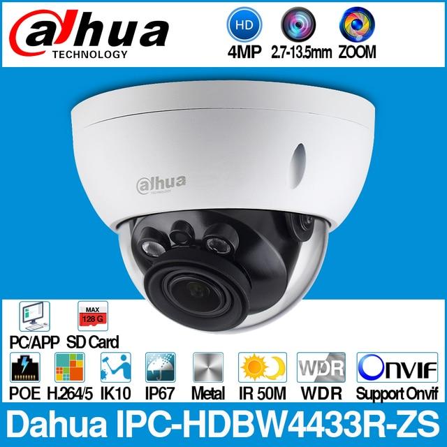 Dahua IPC HDBW4433R ZS 4MP IP Camera CCTV With 50M IR Range Vari Focus Lens Network Camera Replace IPC HDBW4431R ZS