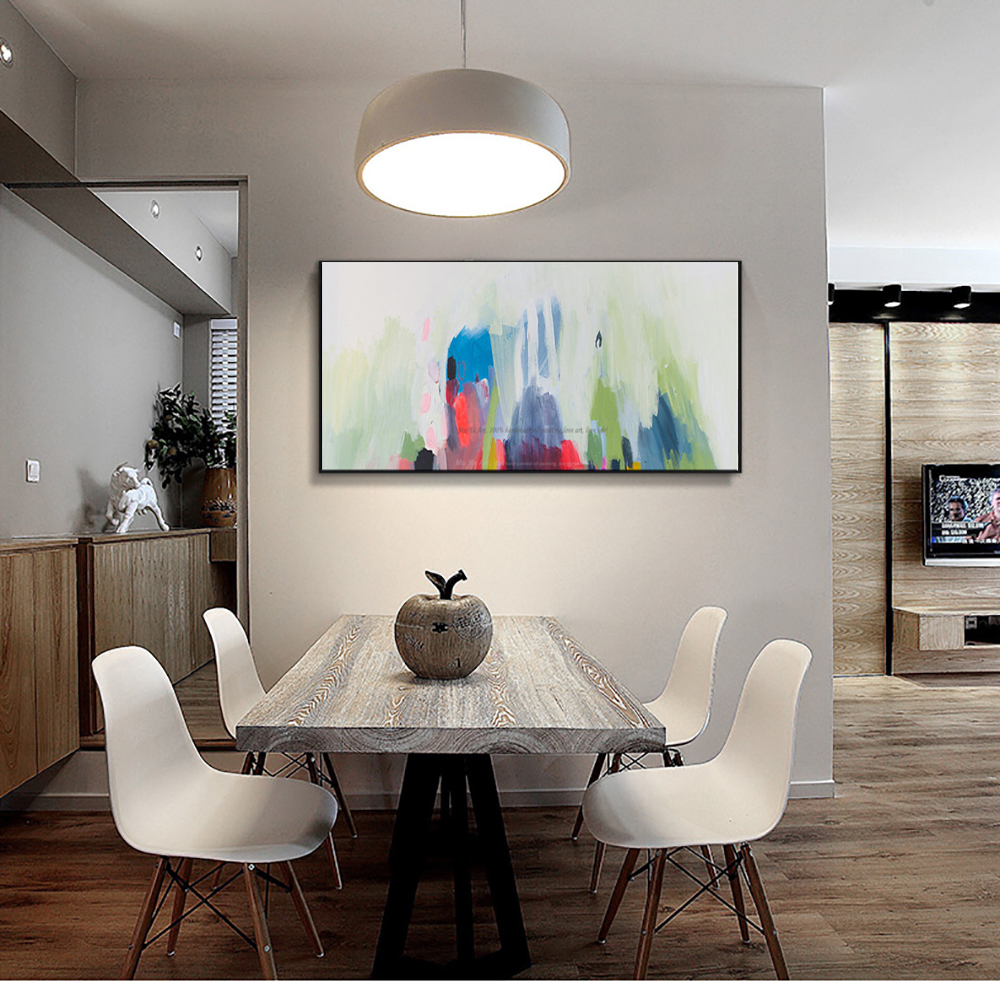 Product Name: MUYA Acrylic Paints Cheap Modern Paintings Living Room  Pictures On The Wall Handmade Oil Painting Wall Art Canvas Watercolor Art