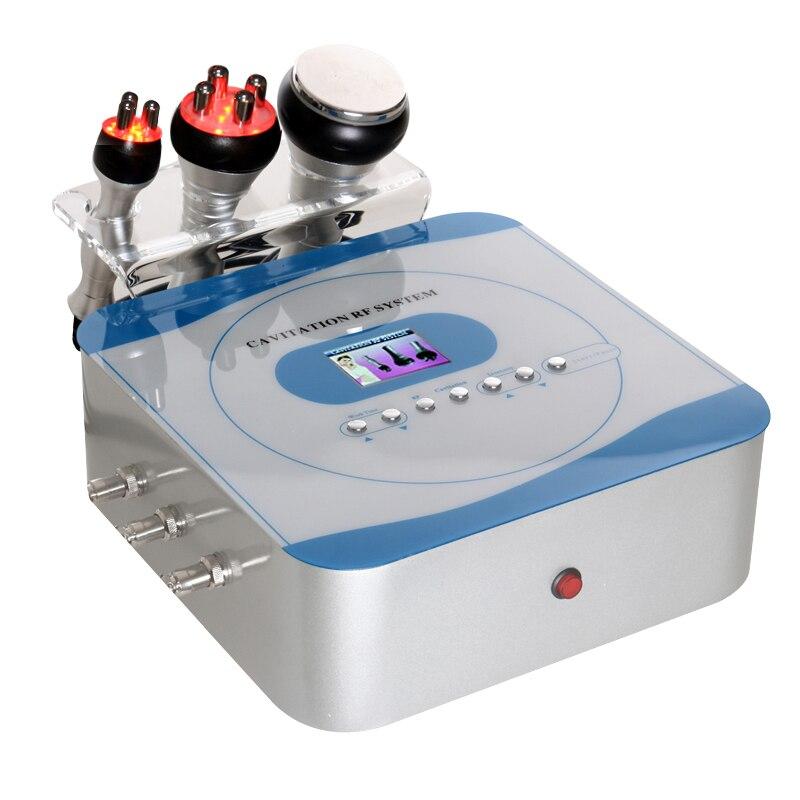 Livraison directe 40 K ultrasons perte de poids Machine de beauté multi-polaire RF radiofréquence peau serrer Anti-rides rajeunissement