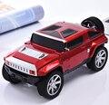 Jeep Modelo de Carro Subwoofer Falante Sem Fio Bluetooth Speaker Stereo Hifi Portátil TF USB MP3 Music Player FM Para Crianças Presente de Natal