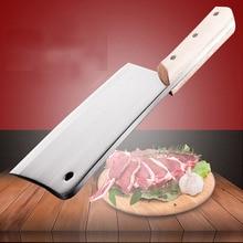 Kitchen Accessories handmade German steel kitchen knives intermaxillary cut / Chop bone knife +Traditional forging process