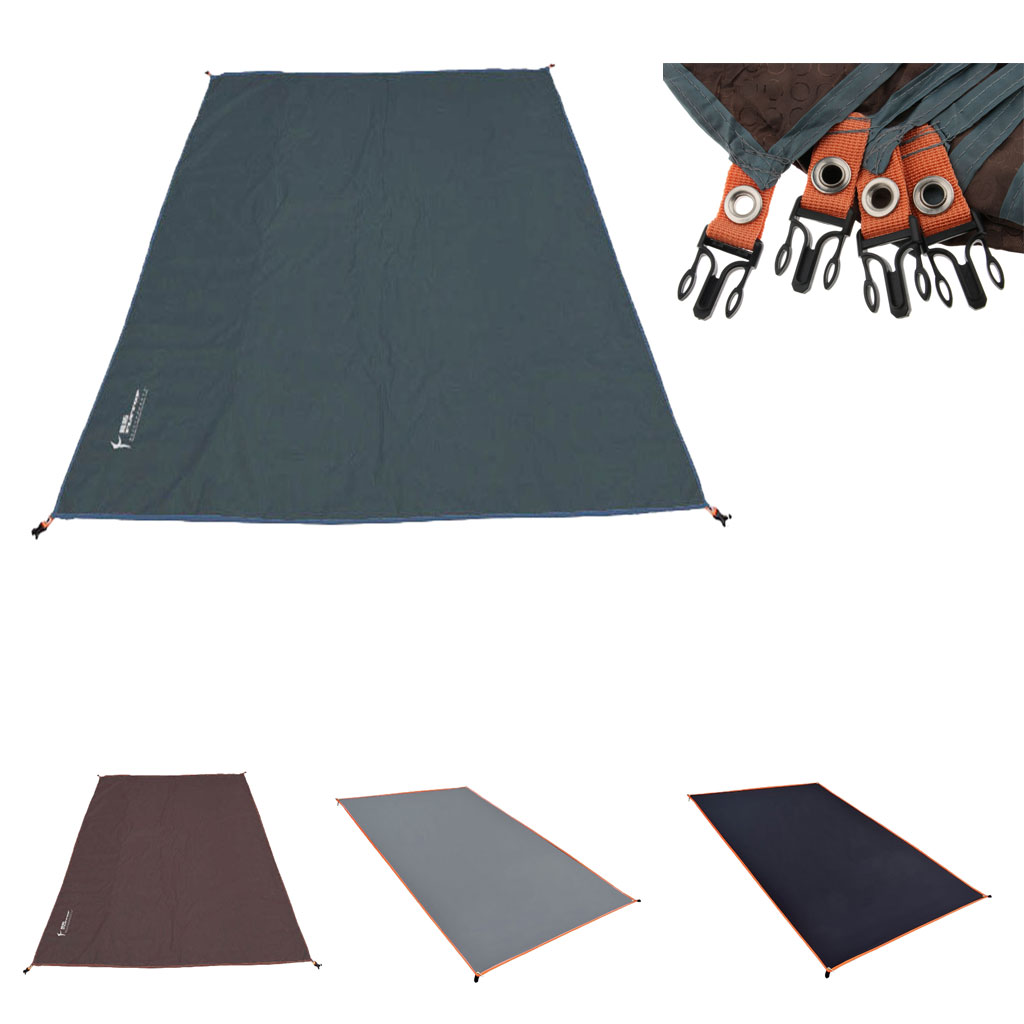 Camping Tarp Waterproof  Picnic Mat Thick Oxford Tent Footprint With Drawstring Bag For Outdoor Camping Tent Accessories