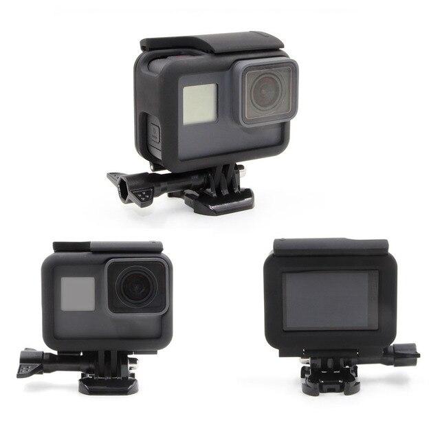 TELESIN 3 piezas LCD protectores cubre película lente del marco ...