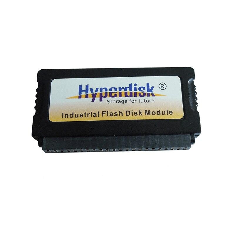 5 PCS/Lot HyperDisk IDE 44 broches DOM SSD 2 GB/4 GB/8 GB/16 GB/32 GB/64 GB disque SSD DOM sur Module mémoire Flash IDE industrielle 44 broches MLC