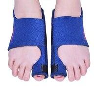 1 пара Bunion корректор шина для ног выпрямитель для фиксации для вальгусная деформация первого пальца стопы боль Инструменты для здоровья