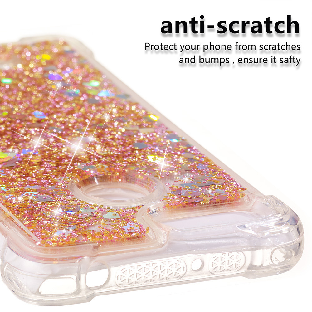 Reasonable Bling Case For Sony Xperia Xa2 Glitter Dynamic Liquid Quicksand Phone Cover H4113 H4133 H3113 H3123 H3133 Soft Cases Back Funda Cellphones & Telecommunications